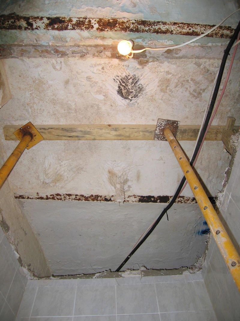 Renovació de forjat/biga